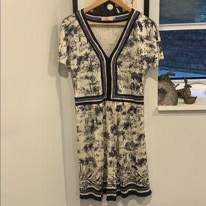Silk Tory Burch Printed Dress